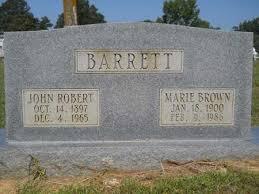 BARRETT, JOHN ROBERT - Drew County, Arkansas | JOHN ROBERT BARRETT -  Arkansas Gravestone Photos