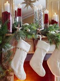 40 Gorgeous Holiday Mantel Decorating Ideas (love The Hanging Stars)