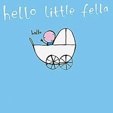 Amazon Com Baby Boy Little Fella New Birth Congrats