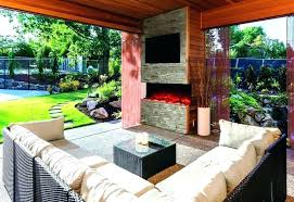 double sided gas fireplace indoor outdoor two sided outdoor fireplace indoor outdoor fireplaces indoor outdoor double