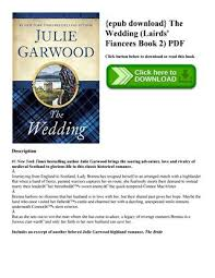 epub the wedding lairds fiancees book 2 pdf on below to or read this book