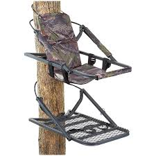 Climbing deluxe redhead treestand