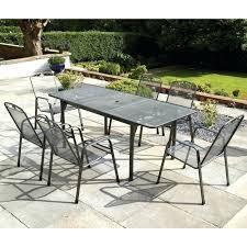 6 seater patio sets royal garden savoy 6 extending patio set 6 seater round patio set