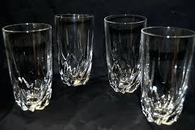 lead crystal glasses home glassware lead crystal glasses lead crystal wine glasses for lead crystal