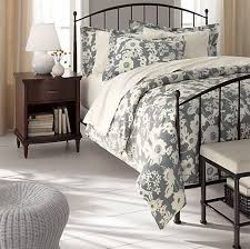 Beautiful Clean And Simple Bedroom Furniture Design, Porto Metal Bed By Crate And  Barrel 4