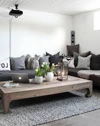 ... Deco Salon Blanc Et Noir Couleur Mur Blanche Decor En Decoration  Conception D Id Es G ...