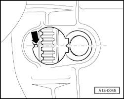 how do i set timing on a vw jetta l the belt seperated graphic