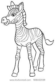 Coloring Pages Zebra Zebra Coloring Page Animal Coloring Page Adult