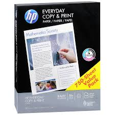 Hp Everyday Copy Print Paper Walgreens