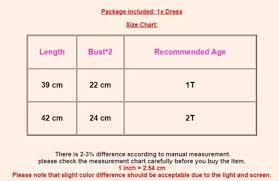 Tutu Dress Size Chart New Baby Girl Birthday Dress Romper Tutu Skirt Headband Outfit Clothes Set