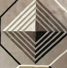 Designers Guild Darly Designers Guild Darly Padgett Geometric Linen Cotton Brown