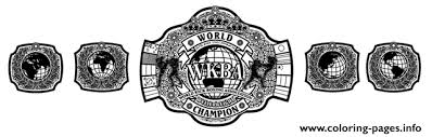 Small Picture wwe championship belt world Coloring pages Printable