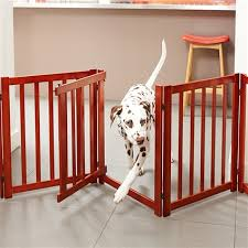 free standing pet gate with door house of pets