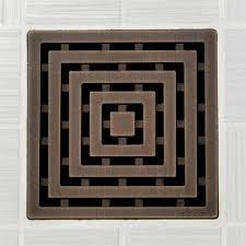 lattice pattern square shower drain