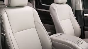 toyota highlander black and grey leather seat car seat covers for toyota highlander