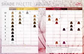 Koleston Perfect Innosense Color Chart Wella Professionals Koleston Perfect Innosense Shade Palette