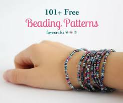 Free Beading Patterns Beauteous 48 Free Beading Patterns FaveCrafts