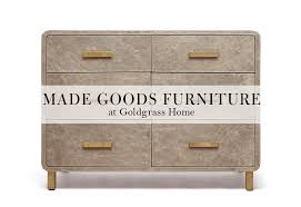 high style furniture. Made Goods Is A High-style Line Of Furniture, Decor And Lighting That Has To Be Seen Believed. They Walk The Between Modern Glam, High Style Furniture G