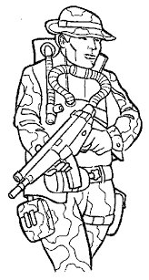 Military Soldier Coloring Pages At Getcoloringscom Free Printable