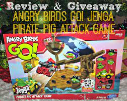 GIVEAWAY: Angry Birds GO! Jenga Pirate Pig Attack Game! #Hasbro - Young At  Heart Mommy