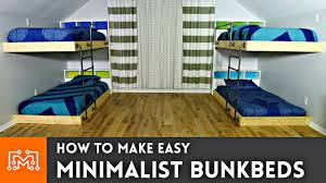double double bunk beds. Brilliant Double Easy Double Bunk Beds  Woodworking How To Throughout L