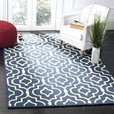 wayfair com rugs com rugs on unique hand tufted navy blue ivory area rug photograph
