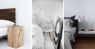Table de chevet de design original- 12 idées chic pour la chambre adulte