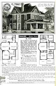 original catalog page 1910 home plans