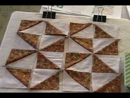 See How Perfect Half Square Triangles Are Made & Used to Create ... & See How Perfect Half Square Triangles Are Made & Used to Create The Broken  Dishes Quilt Adamdwight.com