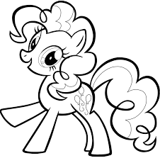 Pinkie Pie Free Coloring Page | Color My Little Pony