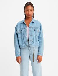 <b>Levis New Heritage</b> Trucker Jacket, Get Over It Trucker, Size XS - O2
