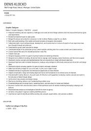 Graphic Designer Resume Sample Graphic Designer Resume Sample Velvet Jobs 94