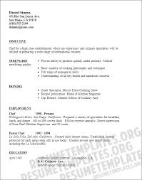 example of good cv layout caterer resume template download catering cv samples for chef