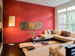 Red Wall Living Room Decorating Red Wall Living Room