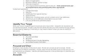 Air Force Resume Template Builder Military New Best Academy