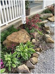 Small front yard landscaping ideas with rocks Interior Plan The Small Front Garden Designs That Will Perfectly Fit The Space You Have Available In Front Of Your House For More Landscaping Garden Pinterest 33 Small Front Garden Designs To Get The Best Out Of Your Small