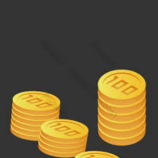 Gold coin stacking pattern decoration | PNG Images EPS Free Download -  Pikbest