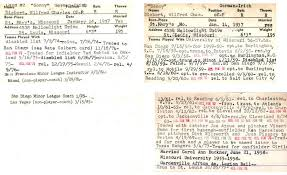 Sonny Siebert - The Sporting News Baseball Players Contract Cards  Collection - LA84 Digital Library