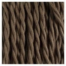 lighting cord. fabric cotton covered cord lighting cable tc13 b