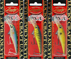 4 Lucky Craft Made Japan Bevy Shad 75sp S Suspending 3