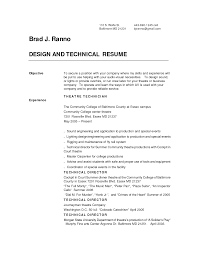 crew chief resume