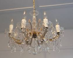 a marie therese crystal chandelier