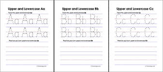 Lower Case Letter Practice Sheet Upper And Lowercase Letters Worksheets Freeology