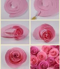 Rose Flower With Paper 113 Best Diy Paper Images Papercraft Cartonnage Paper Engineering