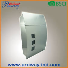 China <b>Outdoor Waterproof Stainless</b> Steel Mail Box Pw-407-Ss ...