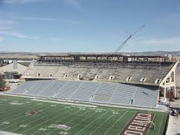 War Memorial Stadium Wyoming Seating Chart Cowboy Football Construction Of Wildcatter Suites On Schedule