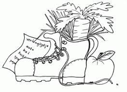 Sinterklaas Schoen Zetten Kleurplaten Animaatjesnl
