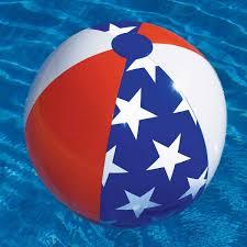 Beach ball on beach Kids Swimlineamericanabeachball9001611jpg Prek Pages Americana Beach Ball