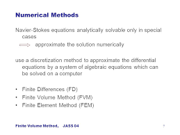7 numerical methods navier stokes equations