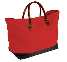 usa made canvas leather handle totes 10899 12c